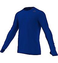 Adidas Supernova L/S - Laufshirt, Blue