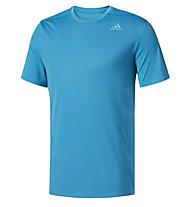 Adidas Supernova - Laufshirt Kurzarm - Herren, Light Blue