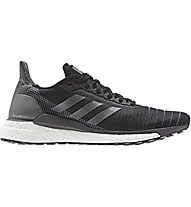 adidas Solar Glide - Laufschuhe Neutral - Damen, Black/Grey