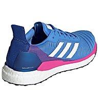adidas Solar Glide 19 - scarpe running neutre - donna, Light Blue