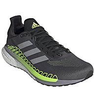 adidas Solar Glide ST 3 - scarpe running stabile - uomo, Dark Grey/Green