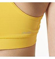 Adidas Solid TechFit Bra - Sport-BH - Damen, Yellow