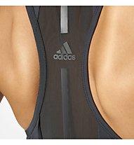 Adidas Speed Fitted Tank - Fitnessshirt - Damen, Black