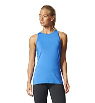 Adidas Speed Fitted Tank - Fitnessshirt - Damen, Blue