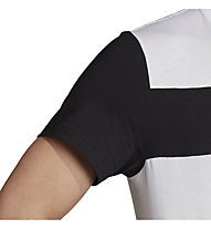 adidas Sport ID - T-shirt fitness - uomo, White/Black