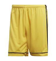 adidas Squad 17 - pantaloni corti calcio - uomo, Yellow