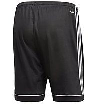 adidas Squad 17 - pantaloni corti calcio - uomo, Black/White
