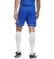 adidas Squad 17 - pantaloni corti calcio - uomo, Light Blue