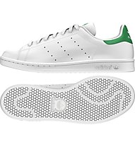Adidas Originals Stan Smith Turnschuh Halle, White/Green
