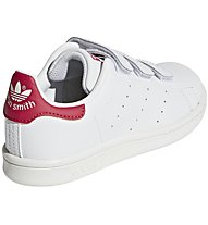 adidas Originals Stan Smith CF - Sneaker - Kinder, White/Pink