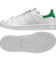 Adidas Originals Stan Smith Turnschuh Junior, White/Green
