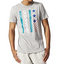 Adidas Originals Star Archive T-Shirt, Grey