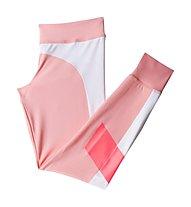 Adidas Stellasport 7/8 Tights, Salmon/White/Red