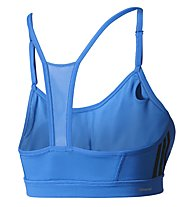 Adidas Strappy Bra 3S - Sport-BH - Damen, Light Blue
