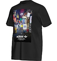 Adidas Originals Strett Photo Tee T-Shirt fitness, Black