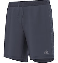"Adidas Supernova 7"" Short M - Laufhose, Grey"