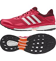 Adidas Supernova Glide 8 - scarpa running, Red