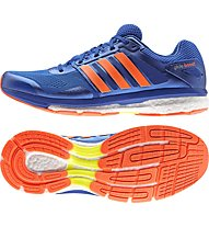 Adidas Supernova Glide Boost 7, Blue/Solar Orange
