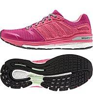 Adidas Supernova Sequence 8 Laufschuh Stabil Damen, Bold Pink