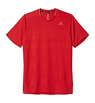Adidas Supernova SS Tee - T-shirt running, Red