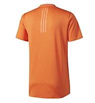 Adidas Supernova - Laufshirt Kurzarm - Herren, Orange