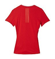 Adidas Supernova SS Tee W - T-shirt running donna, Red