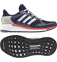 Adidas Supernova ST - stabiler Laufschuh - Damen, Dark Blue/Red