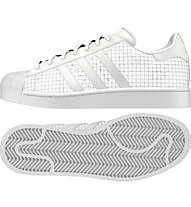 adidas Originals Superstar Herren Sneaker, White/White