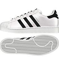 Adidas Superstar Herren Sneaker, White/Black
