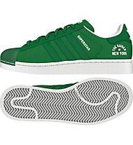 Adidas Originals Superstar Beckenbauer - scarpe da ginnastica - uomo, Green/Green/White