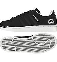 Adidas Originals Superstar Beckenbauer - scarpe da ginnastica - uomo, Black/Black/White