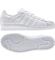 Adidas Originals Superstar Glossy Toe W Damen-Sportschuhe, White