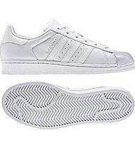 Adidas Originals Superstar Glossy Toe W Damen-Sportschuhe, White