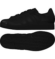 Adidas Originals Superstar Glossy Toe W Damen-Sportschuhe, Black