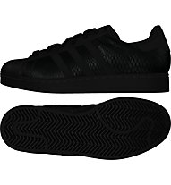 Adidas Originals Superstar Sneaker Damen, Black
