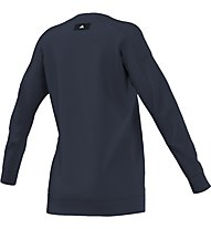 Adidas Sweatshirt Maglia a maniche lunghe fitness donna, Blue