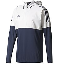 Adidas Tango Training Top - Fußballkapuzenpullover, Dark Blue/White