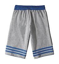 Adidas Team Polyester Short Kinder, Medium Grey H./Bright Royal