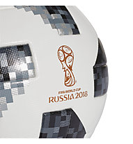 Adidas Telstar 18 OMB FIFA World Cup 2018 - pallone Mondiali di Calcio 2018, White/Black/Gold