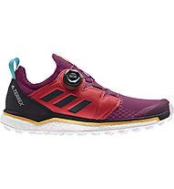 adidas Terrex Agravic Boa - Trailrunningschuh - Damen, Red/Violet
