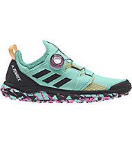 adidas Terrex Agravic Boa - Trailrunningschuh - Damen, Green/Pink