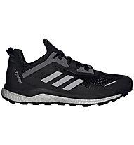 adidas Terrex Agravic Flow - scarpe trail running - donna, Black