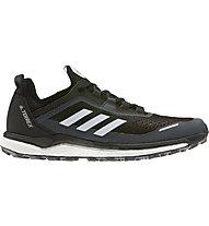 adidas Terrex Agravic Flow - scarpe trail running - uomo, Black/White