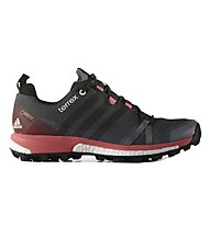 Adidas Terrex Agravic GTX Scarpa Donna, Grey/Red