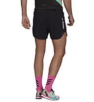 adidas Terrex Agravic TR Pro Trail Running - Trailrunninghose - Herren, Black/White
