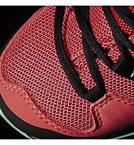 Adidas Terrex Ax2R Mid - Trekking- und Wanderschuh - Kinder, Green/Pink