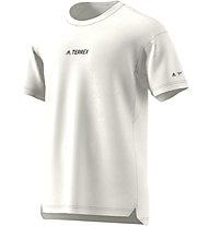 adidas Terrex Parley Agravic TR Allround - maglia trail running - uomo, White