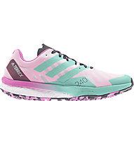 adidas Terrex Speed Ultra - Trailrunningschuh - Damen, Green/Pink