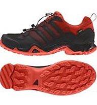 Adidas Terrex Swift R GTX - Trailrunning - Herren, Black/Red
