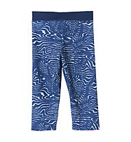 Adidas Training - Leggings 3/4 - Mädchen, Blue/White